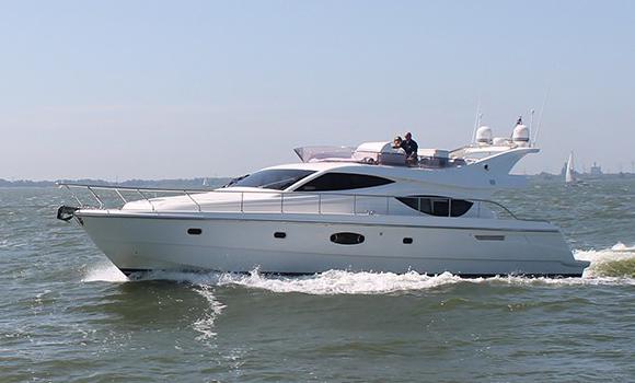 Ferretti 550 Yacht on Charter in Mumbai