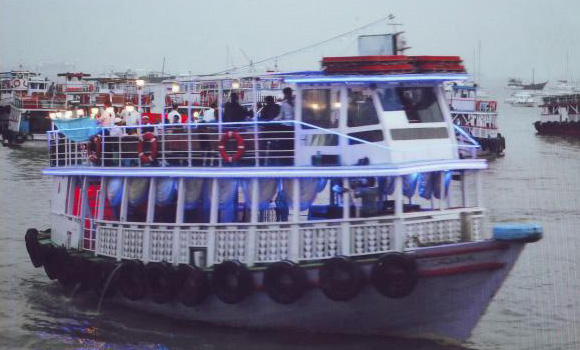Ferry Boat Party at Gateway of India