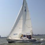 J24 Class Sailboat on Charter in Mumbai