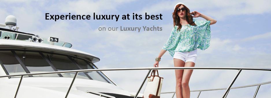 Luxury Yacht Charter Mumbai