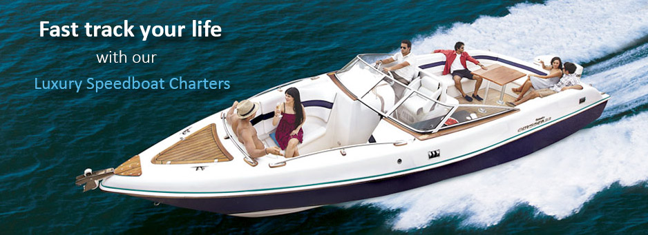 Speedboat Hire Mumbai